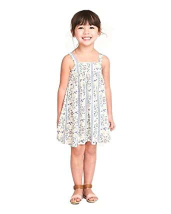 5f93445a221 Amazon.com  Old Navy Toddler Girl s Printed Dresses!  Clothing