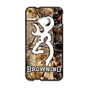 Autumn scenery Browning Cell Phone Case for HTC One M7 by ruishername