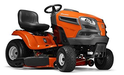 - Husqvarna YTH18542-CARB, 42 in. 18.5 HP Briggs & Stratton Intek V-Twin Hydrostatic Gas Riding Lawn Mower, CARB