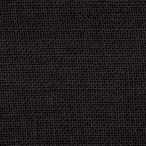 Black Burlap Fabric - 60