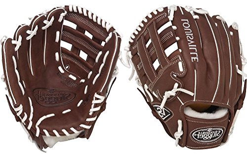 Louisville Slugger FGXPBN5 Xeno Pro Brown Fielding Glove, 11.75-Inch, Left Hand Throw ()
