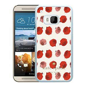 Unique And Beautiful Designed Kate Spade Cover Case For HTC ONE M9 White Phone Case 255