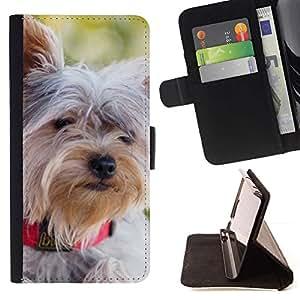 Momo Phone Case / Flip Funda de Cuero Case Cover - Schnauzer Norfolk Terrier Havanese; - Sony Xperia Z5 5.2 Inch (Not for Z5 Premium 5.5 Inch)