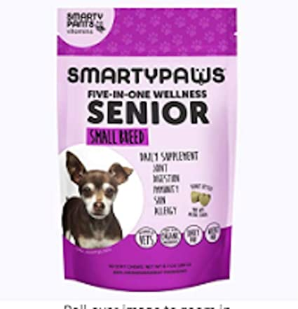 Amazon.com: Smartypaws - Suplemento para perro, masticable ...