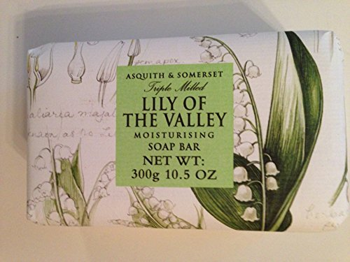 (Asquith & Somerset Lily of the Valley Moisturizing Triple Milled Soap 10.5 Oz)