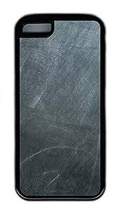 iPhone 5C Case Chalk Board TPU iPhone 5C Case Cover Black