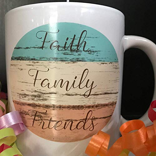 Bay Berry Candle, Faith Family Friends, Berry Scented Candle, Mug Candle, Fun Candle, Aromatherapy Candle, Kitchen Decor, Housewarming Gift, Candle Mug, Gift Candle
