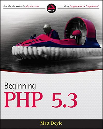 Beginning PHP 5.3 by Wrox