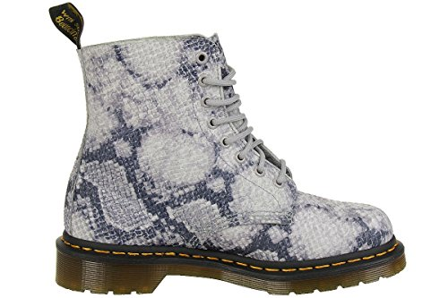 Snake Boot Pascal Gris Women's Dr Martens Fashion qwt1Avn