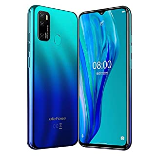 Ulefone Note 9P Unlocked Smartphone, Dual Sim Unlocked Cell Phones 4G 6.52' IPS Display,4GB+64GB Android 10 16MP+5MP+2MP+8MP Quad Camera, 4500Mah,Face ID, Fingerprint,GPS, WiFi (Gradient Blue)