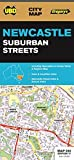 Newcastle Suburban Streets Map#280 1:25K UBD (City Map)