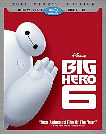 Image Not Available For Color Big Hero 6 Blu Ray DVD Digital HD