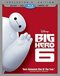 Big Hero 6  (Blu-ray + DVD + Digital HD) [Importado]