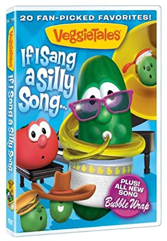 DVD - Veggie Tales: If I Sang A Silly Song (Veggie Tales Hairbrush)