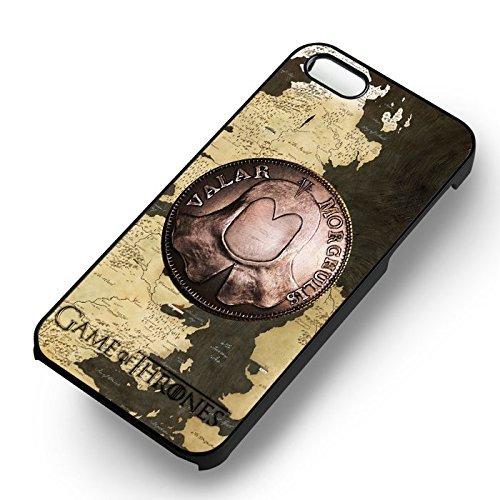 Chic GOT Valar Morghulis pour Coque Iphone 7 Case (Noir Boîtier en plastique dur) A6R7ZP