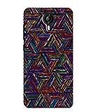 Kaira High Quality Printed Designer Soft Silicon Back Case Cover For Micromax Canvas Amaze 2 E457 (trianglepattern)