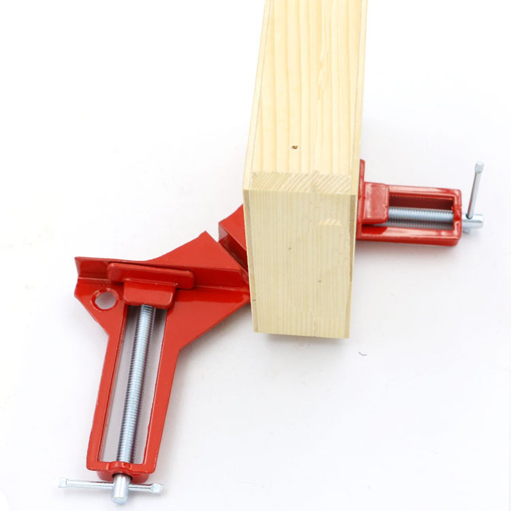 Jili Online 4pc HEAVY DUTY 3'' 80MM MITRE CORNER CLAMPS FRAME HOLDER WOODWORK RIGHT ANGLE by Jili Online (Image #8)