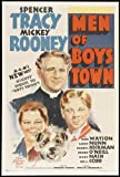 Men of Boys Town Poster B 27x40 Spencer Tracy Mickey Rooney Darryl Hickman