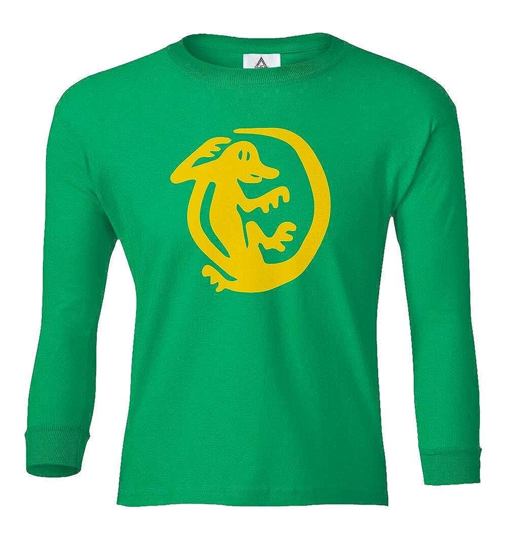 Sheki Apparel 90s Halloween Hidden Temple Tribute Team Youth Long Sleeve T-Shirt