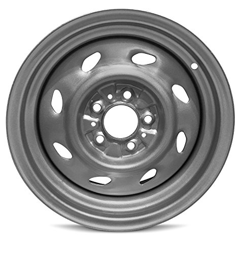 Road Ready Car Wheel For 1993-2001 Ford Explorer 1993-09 Ranger 1997-2001 Mercury Mountaineer 15 Inch 5 Lug Black Steel Rim Fits R15 Tire - Exact OEM Replacement - Full-Size Spare