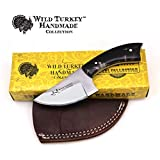 Wild Turkey Handmade Real Camel Bone Handle Fixed Blade Skinner Knife w/Leather Sheath (Horn) Review