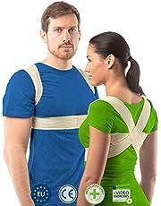Postuur corrector voor vrouwen en mannen van aHeal | Rugondersteuning voor een goed postuur | Orthopedische rugbrace tegen scoliose en kyfose | Verhelpt rugpijn en corrigeert een slecht postuur