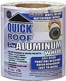 Cofair Products WQR625 6'' X 25' White Quick Roof Tape (Quantity 6)