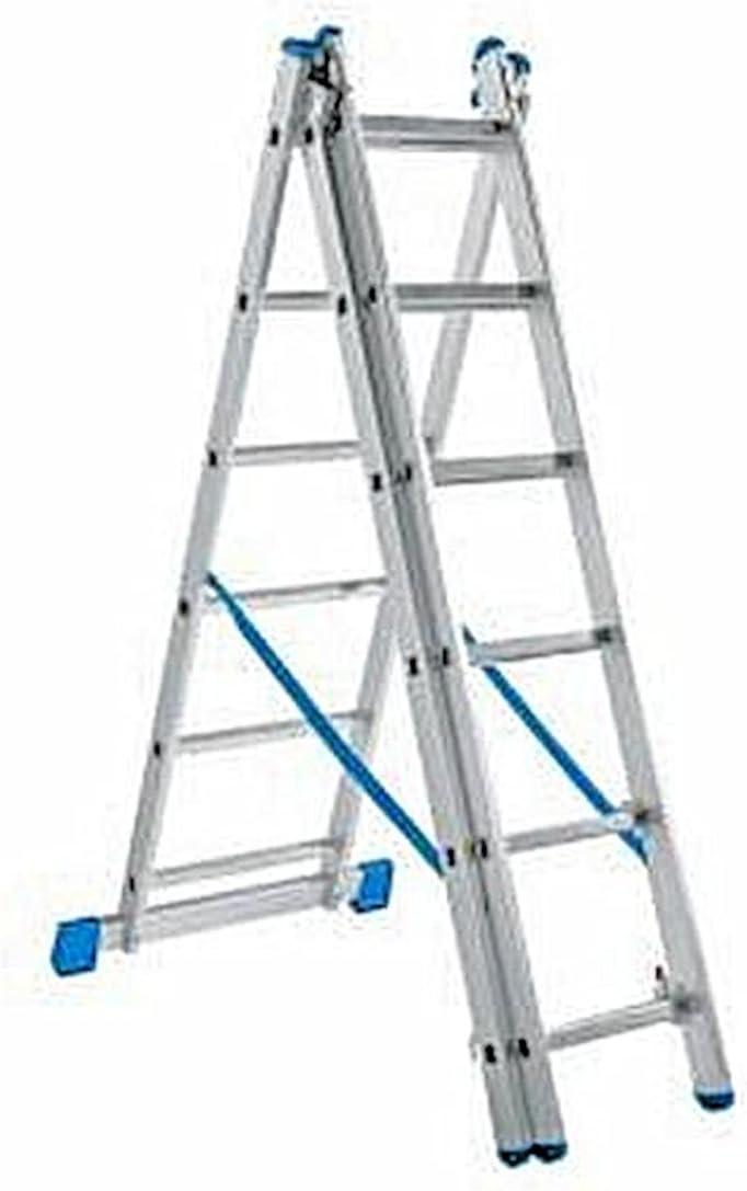 Powerfix aluminio escalera 3 in1 – Escalera aluminio telescópica (3,63 M escalera Andamio 150 kg: Amazon.es: Bricolaje y herramientas