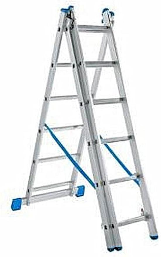 Powerfix aluminio escalera 3 in1 – Escalera aluminio telescópica ...