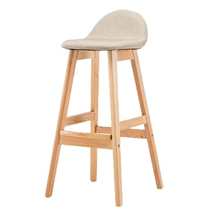 Furniture Inventive Solid Wood Bar Chair High Stool Swivel Bar Chair Stylish Simple Windsor Chair Home Lift Chair.