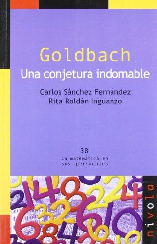 Descargar Libro Goldbach. Una Conjetura Indomable Carlos Sánchez Fernández