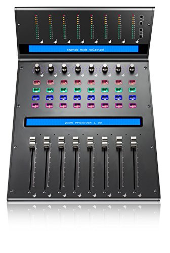 Icon Pro Audio QCon Pro XS - 8 Channel Extender for Qcon Pro X DAW Control Surface (Best Daw Control Surface)