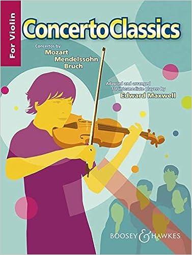 Concerto Classics: Violin and Piano Reduction