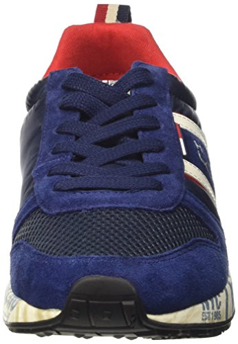 Tommy Hilfiger Herren T2385rack 1c Pumps, Steel Grey Blu (Ink 284)