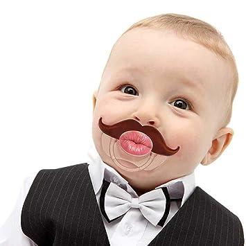 Amazon.com: Kissable Barber - Chupete de mostaza para bebés ...