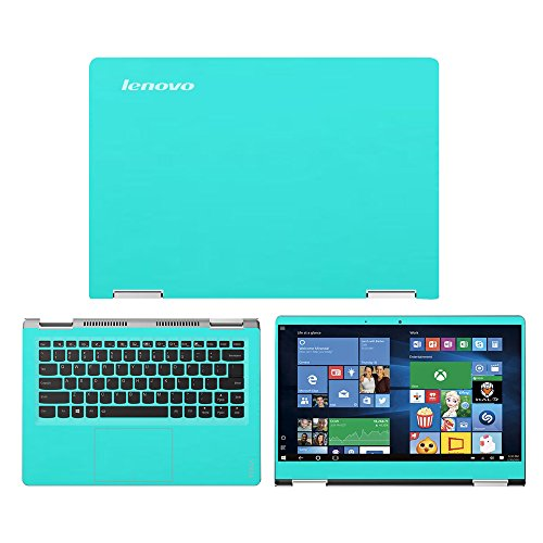 Mint Green skin decal wrap skin Case for Lenovo Yoga 710 14 14 Touch Screen Laptop