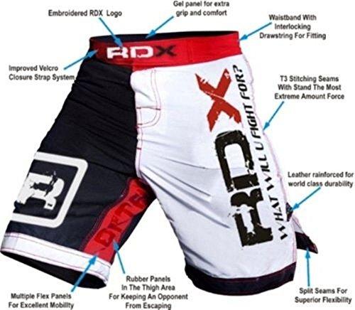 Authentic RDX Fight Shorts UFC MMA Grappling Short Kick Boxing