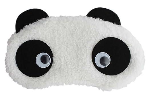 24x7 eMall Dreamy Eyes Panda Sleep Mask (White)