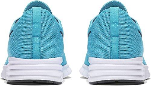 NIKE Herren SB Lunar Paul Rodriguez 9 Skate Schuh Gamma Blau / Weiß