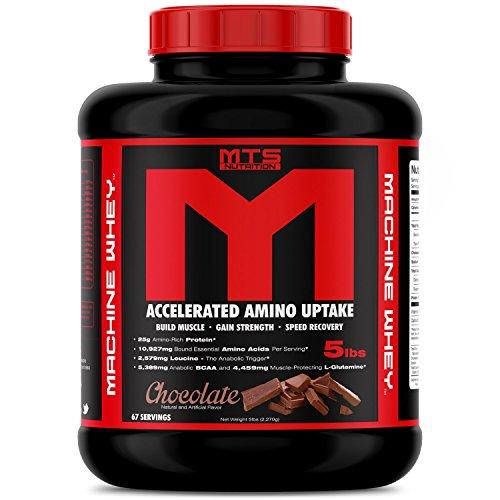 MTS Nutrition Machine Whey Chocolate 5 lbs (2270g)