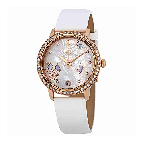 Omega De Ville Prestige Mother Of Pearl Dial Ladies Watch 424.57.33.20.55.002