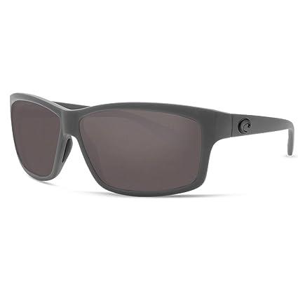 af63a3b0a958 Amazon.com: Costa Del Mar Costa Del Mar UT98OGGLP Cut Gray 580G Matte Gray  Frame Cut, Matte Gray Frame, Gray 580G: Sports & Outdoors