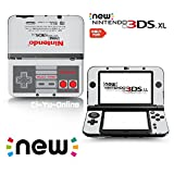 Ci-Yu-Online VINYL SKIN [new 3DS XL] - Retro NES - Limited Edition STICKER DECAL COVER for NEW Nintendo 3DS XL / LL Console System