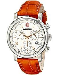 Men's 01.1043.104 Urban Classic Chrono Analog Display Swiss Quartz Brown Watch