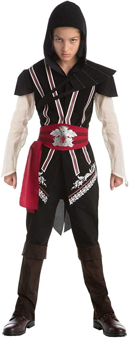Horror-Shop Assassins Creed Ezio Traje adolescente Teen: Amazon.es ...