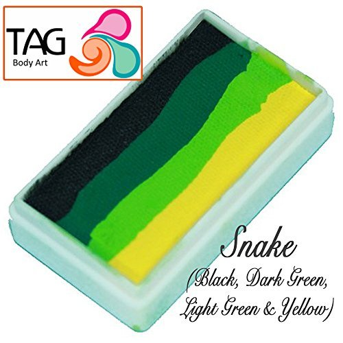 Tmnt Face Paint (TAG Face Paint 1-Stroke Split Cake - Snake)