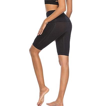 Keepwin Pantalón Corto Deportivo para Mujer, Running ...