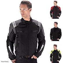 [Patrocinado] Viking Cycle ironborn chamarra textil de moto para hombres, 3XL, Gris