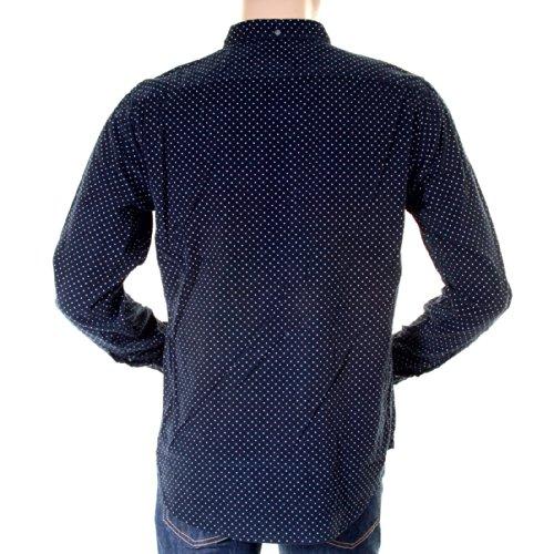 Hugo Boss Orange Label Herren, Marineblau, baby-cord 50232460 Equator BOSS2872 shirt