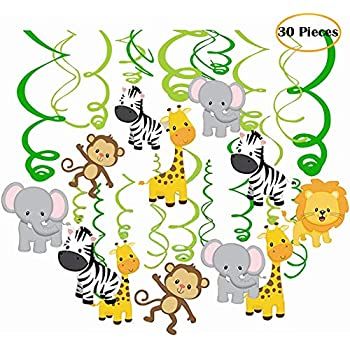 Amazon.com: Jungle Safari Chupete de Noé collares Baby ...
